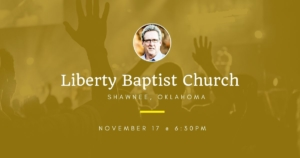 Dallas Holm at Liberty Baptist Church in Shawnee, OK