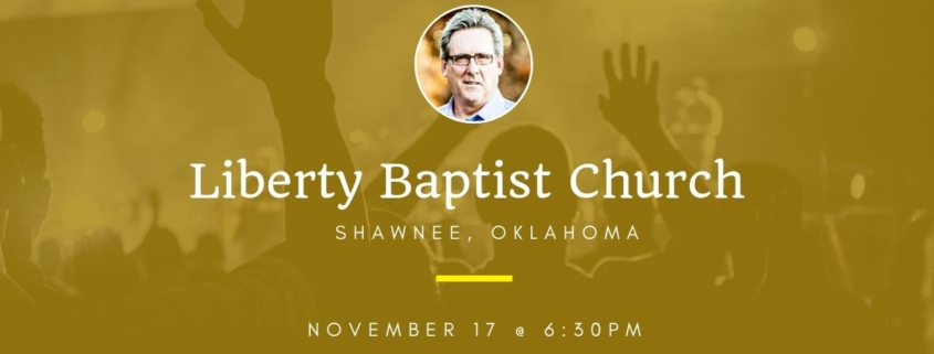 Dallas Holm at Liberty Baptist Church in Shawnee, OK