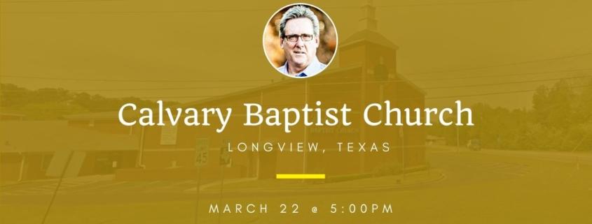 Dallas Holm at Calvary Baptist Church in Longview, TX