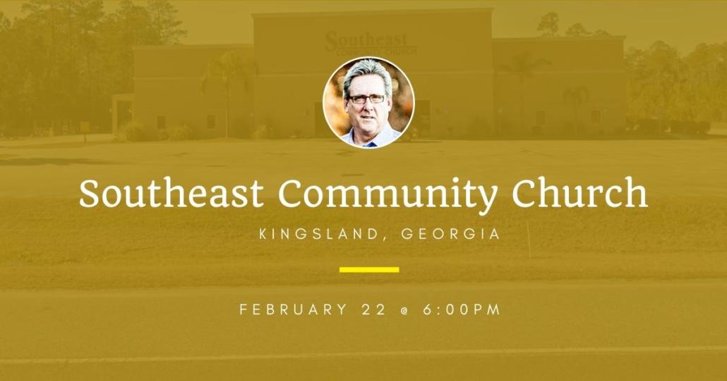 Dallas Holm at Southeast Community Church in Kingsland, GA