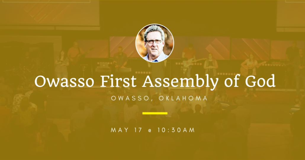 Dallas Holm at Owasso First Assembly of God in Owasso, OK